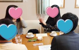 3月10日の「リアル婚活パーティー」の様子